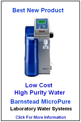 Barnstead Micropure - Water Softener Selection Calculator - How To Pick the Best Water Softener  - Removing Iron - Potassium