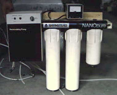 Filters for Barnstead Nanopure II RO Systems