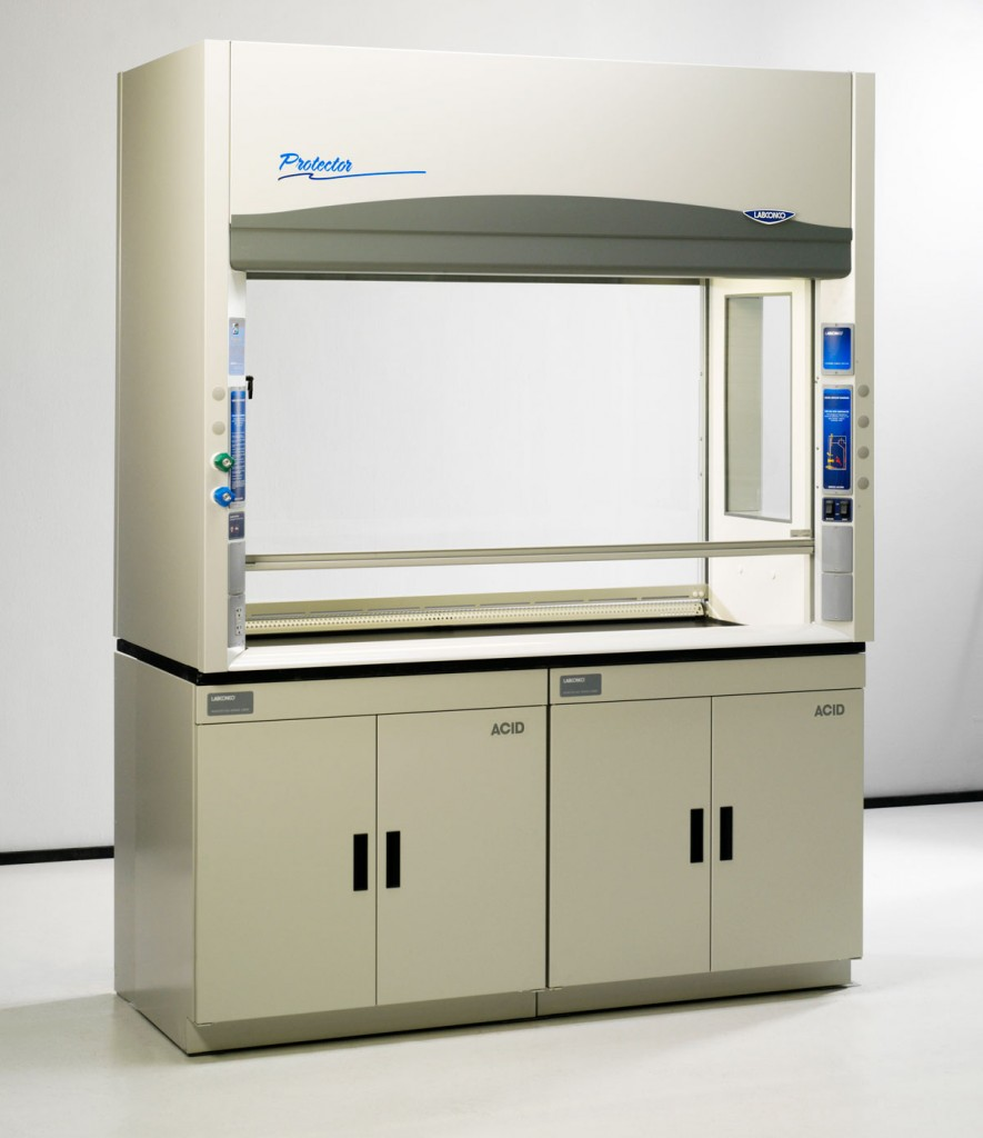 Protector Pass-Through Laboratory Hoods