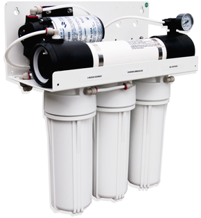 RO1XP1 - Complete Reverse Osmosis System with pump